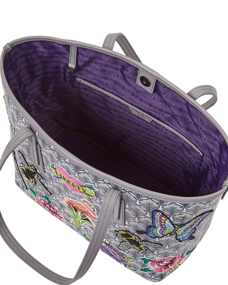 Marlborough Iphis All Over Patches Tote Bag