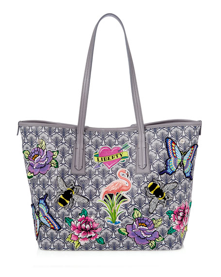 Liberty London Marlborough Iphis All Over Patches Tote