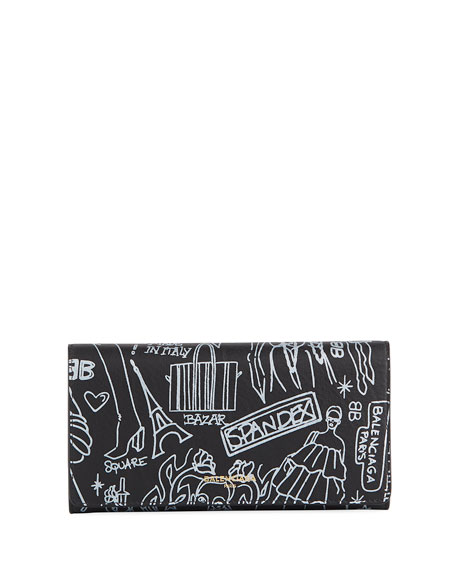 Essential Money Tattoo Leather Wallet