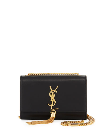 Saint Laurent Kate Monogram Small Tassel Shoulder Bag