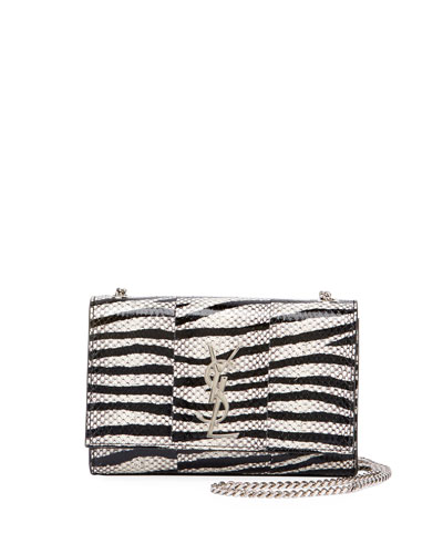 faaa9e091a27 Saint Laurent Monogram Kate Small Snake Chain Shoulder Bag from ...