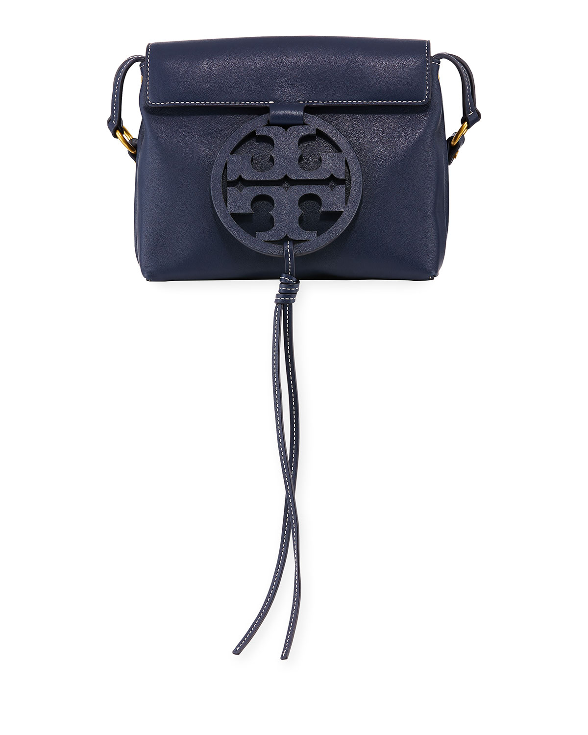 d21682baf9fe5 Tory Burch Miller Leather Crossbody Bag