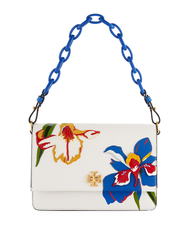 a9c919e6ffd Tory Burch Kira Applique Chain Shoulder Bag