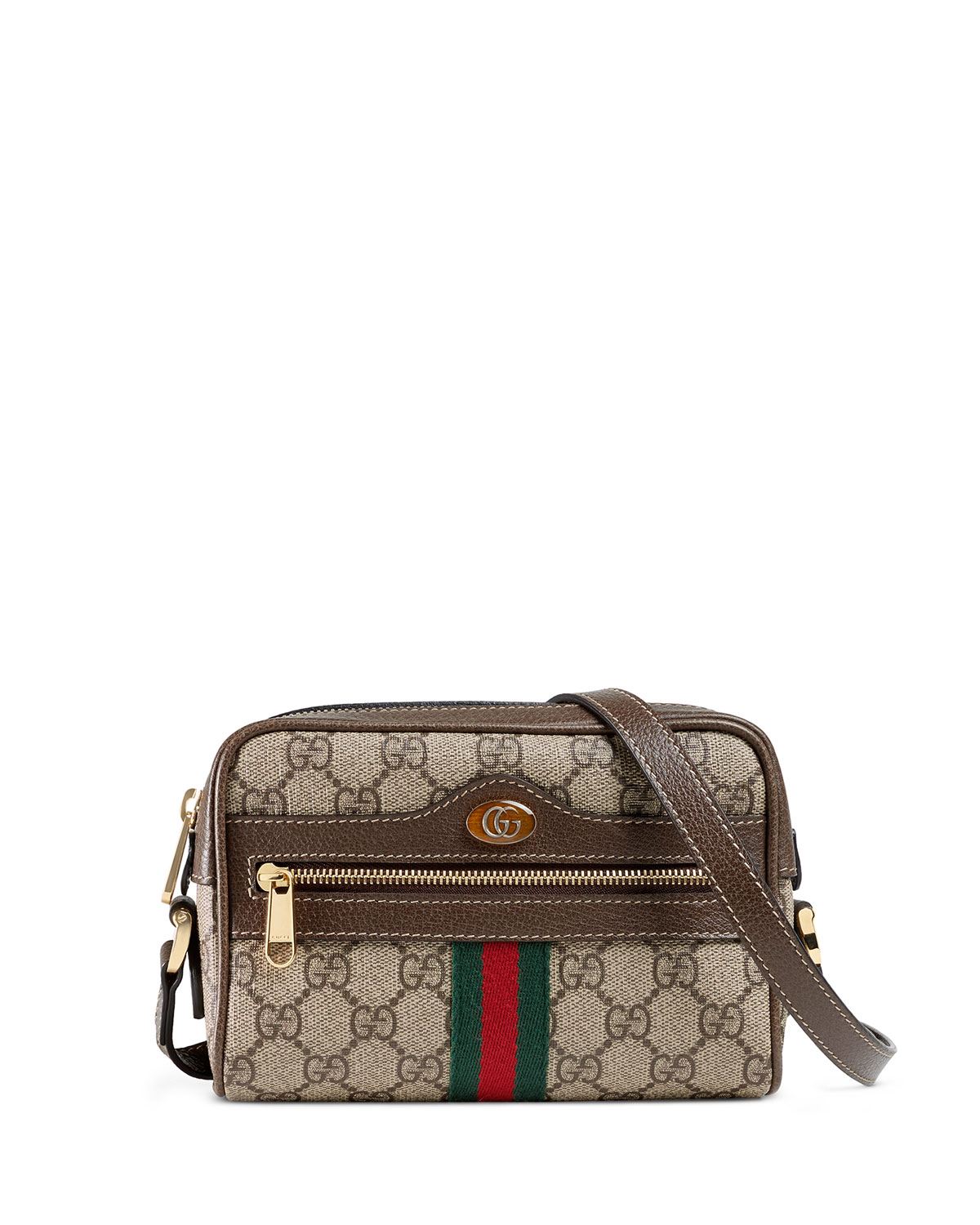 b65efd993 Gucci Ophidia Small GG Supreme Crossbody Bag | Neiman Marcus