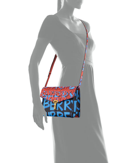 Macken Small Graffiti Crossbody Bag