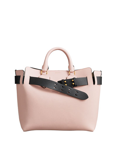 Marais Medium Belt Top Handle Bag, Light Pink
