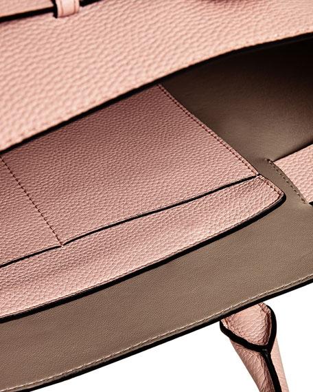 Marais Medium Belt Top Handle Bag, Light Pink