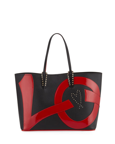 Christian Louboutin Cabata Love Calf Empire Paris Tote