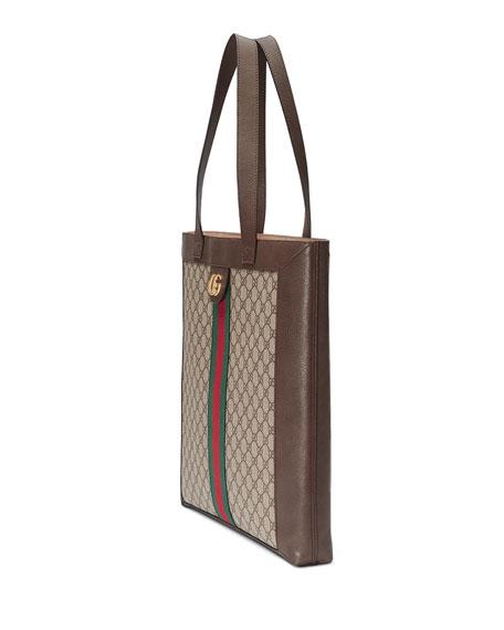 Gucci Ophidia GG Supreme Jacquard Striped Tote Bag