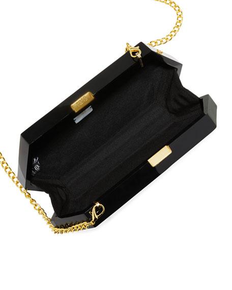 Rafe Annabelle Polygon Minaudiere Clutch Bag