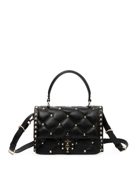 Candystud Quilted Shoulder Bag