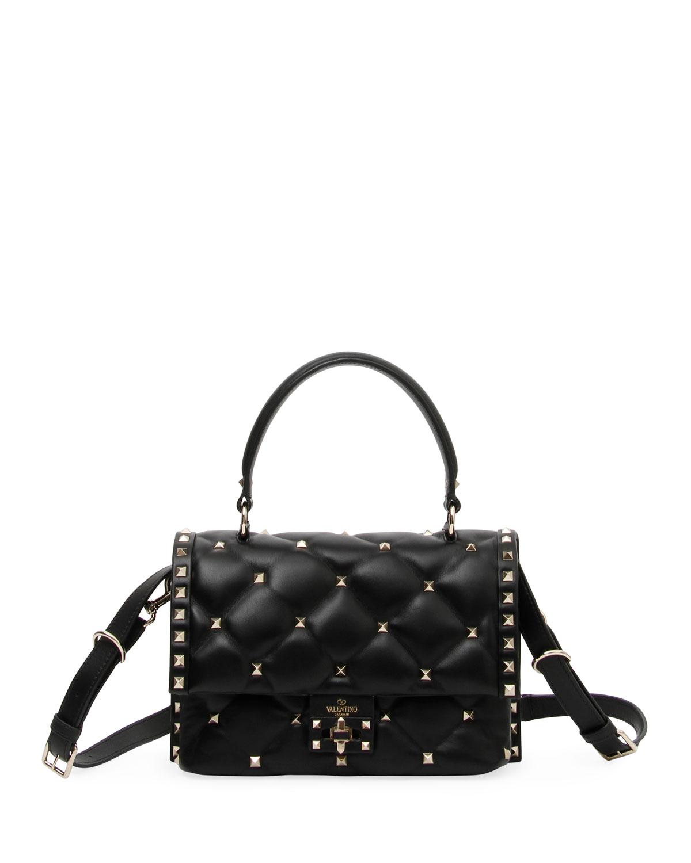 Shoulder Candystud Garavani Bag Marcus Neiman Valentino Quilted SFTfW6gq