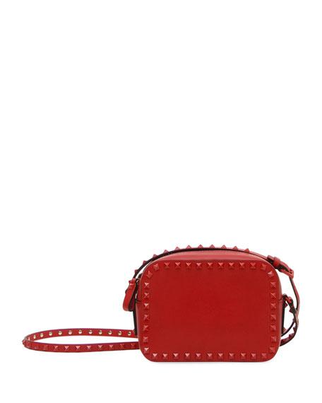 Monochrome Rockstud Crossbody Bag