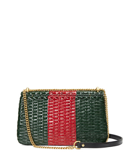 Linea Cestino Small Wicker Shoulder Bag