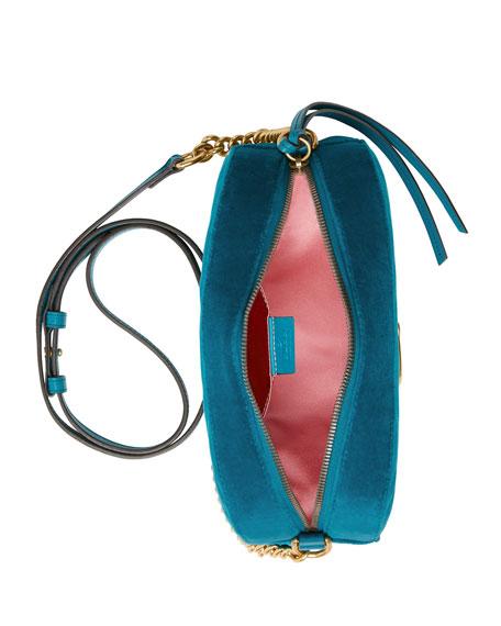 GG Marmont Small Velvet Camera Bag