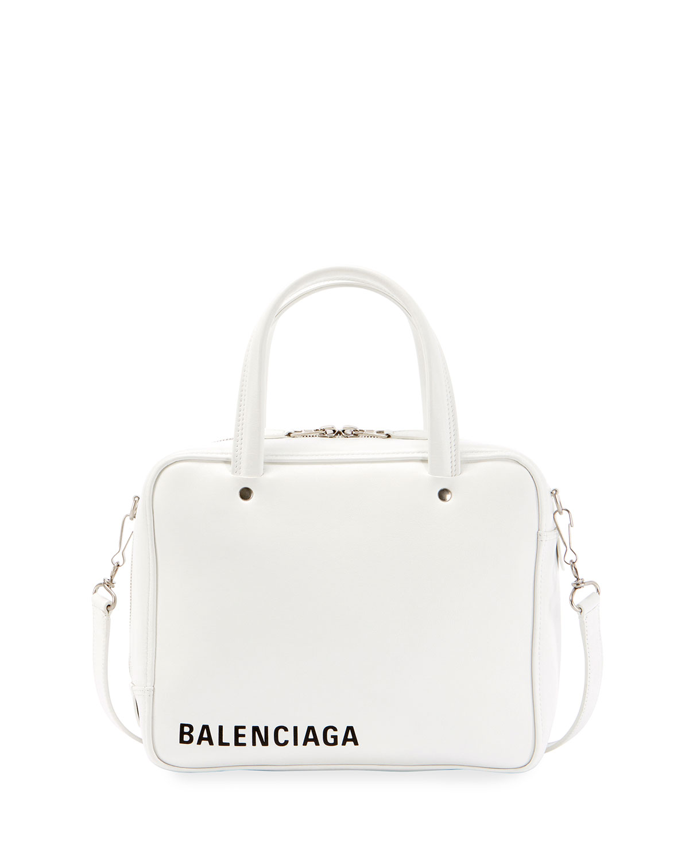 190a18c7b9 Balenciaga Triangle Square XS Leather Crossbody Bag