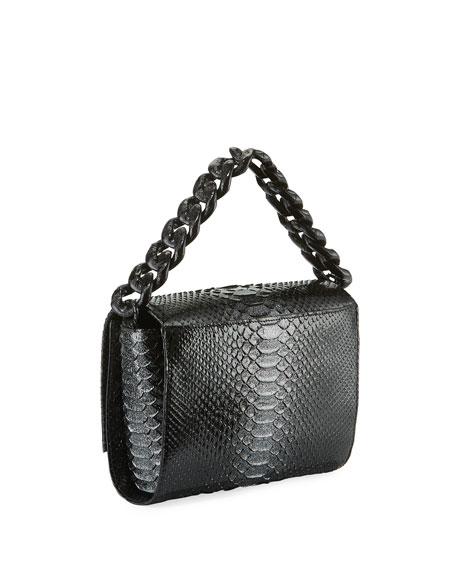 Nancy Gonzalez Carrie Crocodile and Python Clutch Bag