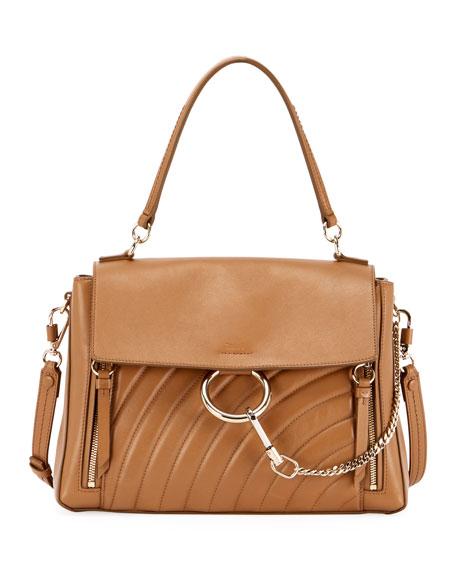 Faye Medium Quilted Leather Shoulder Bag