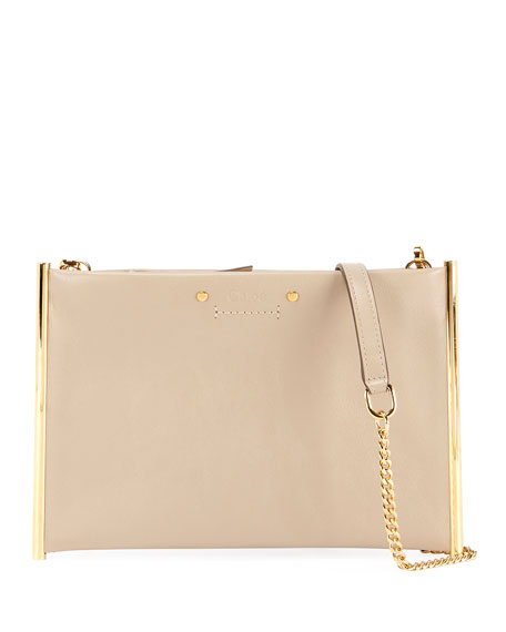 Chloe Roy Chain Pouch Crossbody Bag