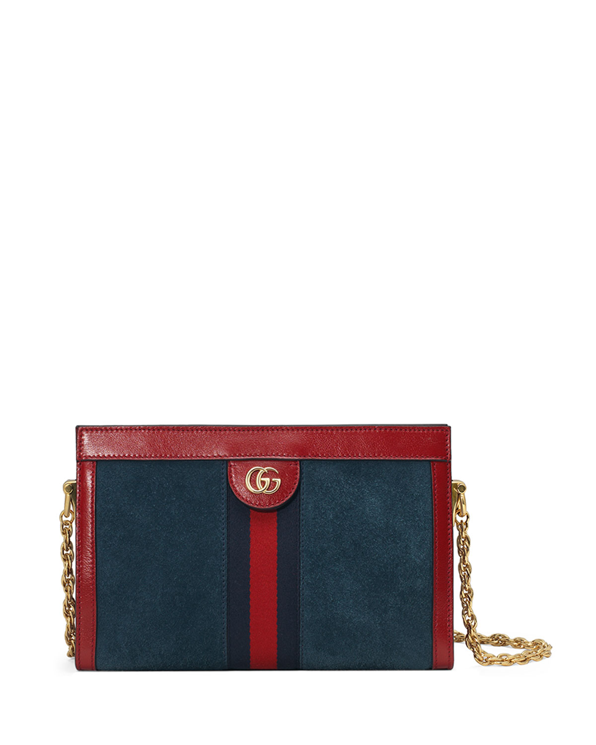 7efb8a1ab29b63 Gucci Ophidia Small Suede Chain Shoulder Bag | Neiman Marcus