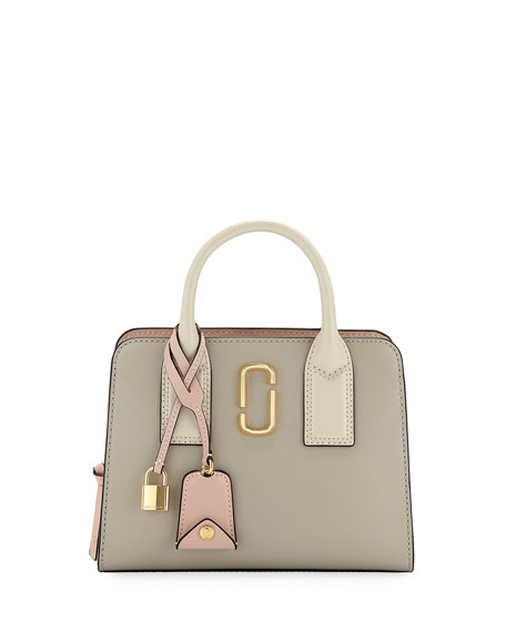 Marc Jacobs Little Big Shot Saffiano Leather Tote