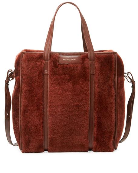 Bazar Shopper Large Shearling Fur Bag