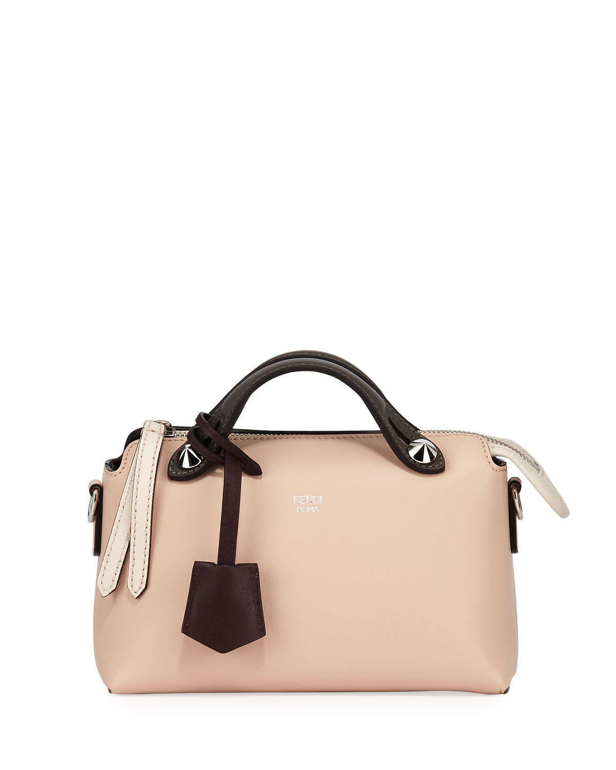 3b3da2f724 Fendi By The Way Mini Calf Dolce Satchel Bag | Neiman Marcus