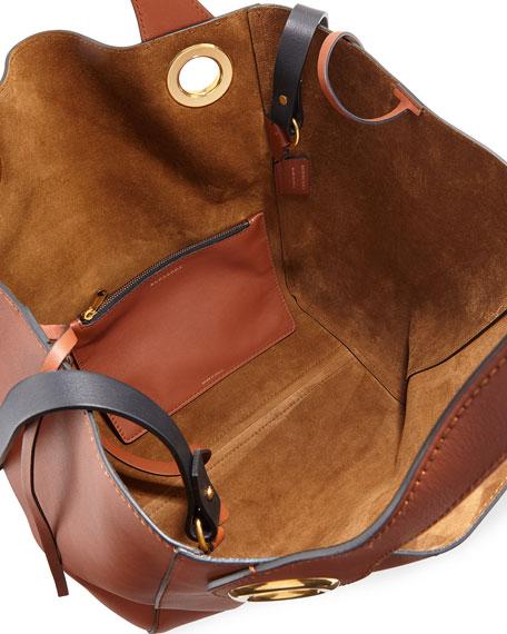 Burberry Grommet Medium Hobo Bag