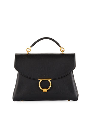 593be467ae33 Salvatore Ferragamo Margot Medium Top Handle Bag