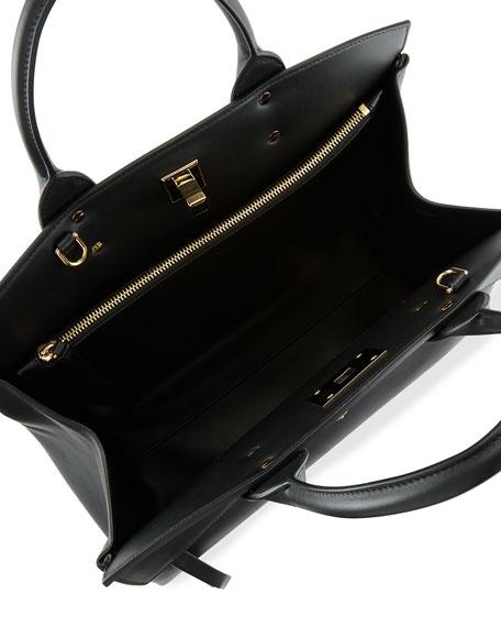 Salvatore Ferragamo Studio Medium Top Handle Bag