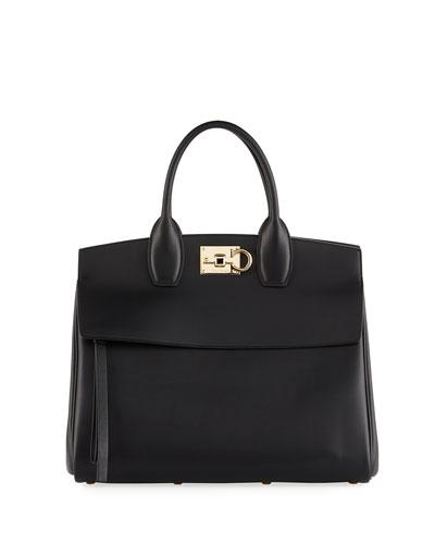 Studio Medium Top Handle Bag