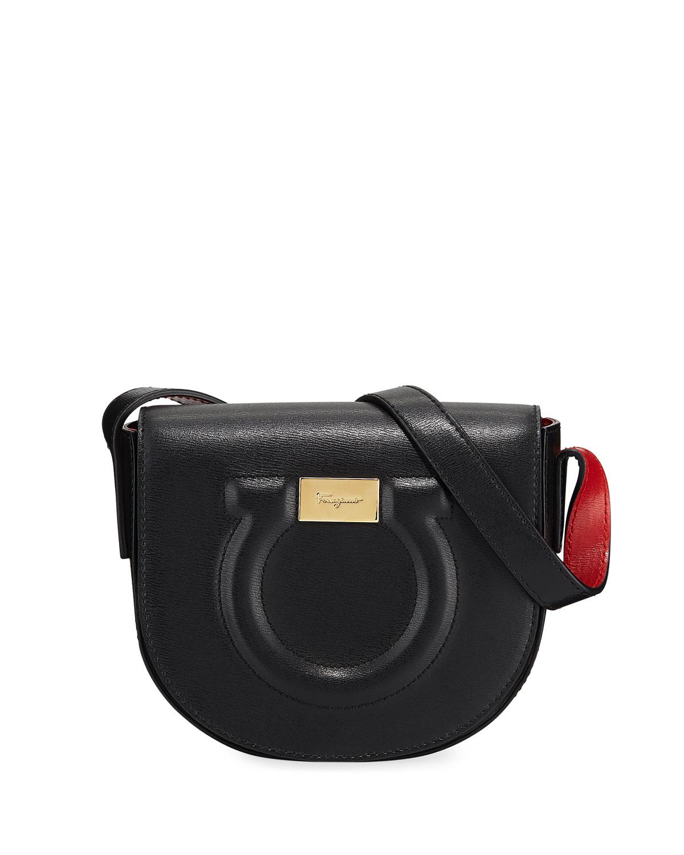 official sale comfortable feel new high Gancio City Crossbody Bag, Nero