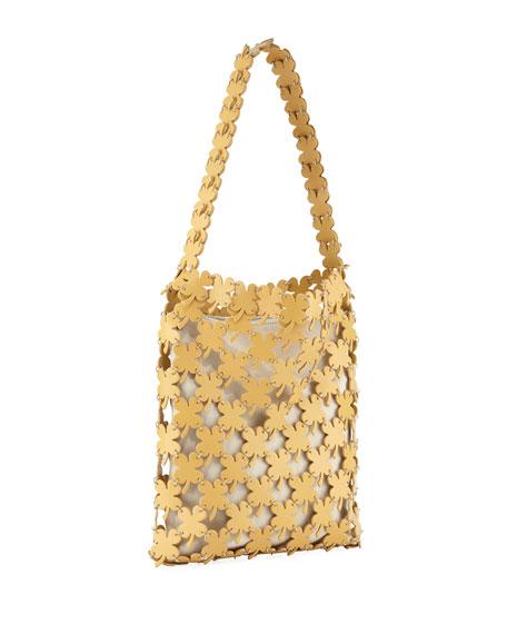 Paco Rabanne Iconic Clover Hobo Bag