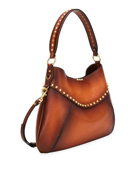 Valentino Garavani Twinkle Studded Medium Hobo Bag
