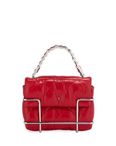 Halo Quilted Leather Crossbody Bag