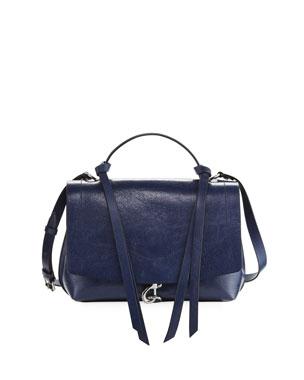 3f11db9ce53a18 Rebecca Minkoff Stella Distressed Leather Satchel Bag