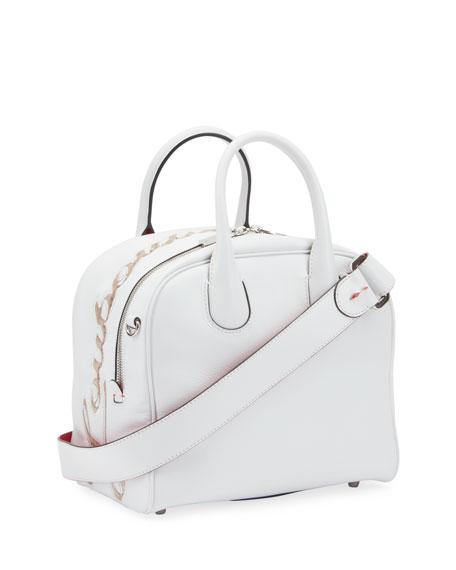 Christian Louboutin Marie Jane Small Calf Paris Liege Pepite Tote Bag