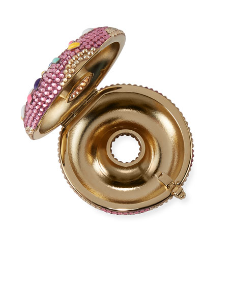 Image 2 of 4: Strawberry Donut Pill Box