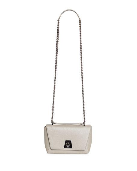 Akris Anouk Small Day Calf Leather Crossbody Bag