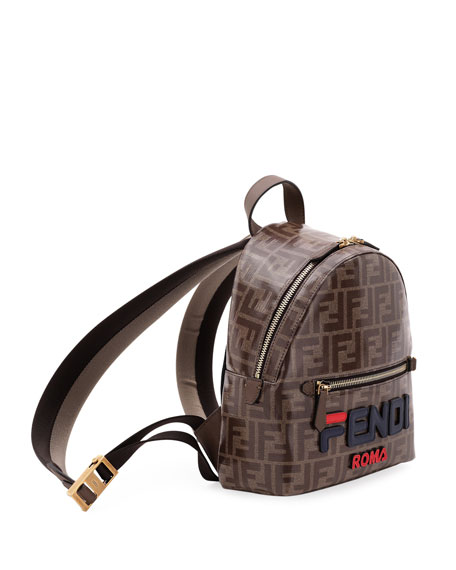 Fendi Mini FF Fendi Mania Fabric Backpack