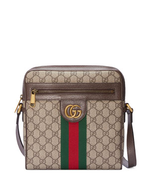 a677733c3cb560 Gucci Ophidia GG Supreme Canvas Messenger Bag
