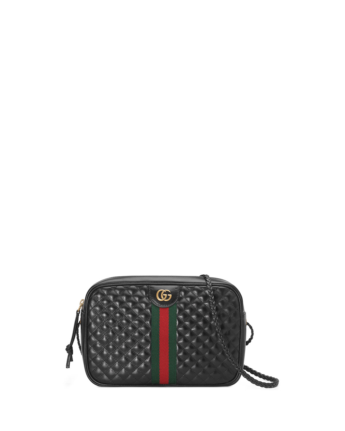 Gucci Trapuntata Small Quilted Leather Crossbody Camera Bag  439ea0442706b