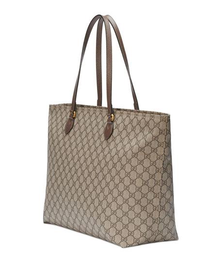 c9e9a6a142d Gucci Ophidia Medium Soft GG Supreme Canvas Tote Bag   Neiman Marcus