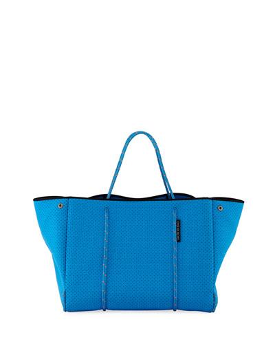Escape Perforated Tote Bag  Bright Blue