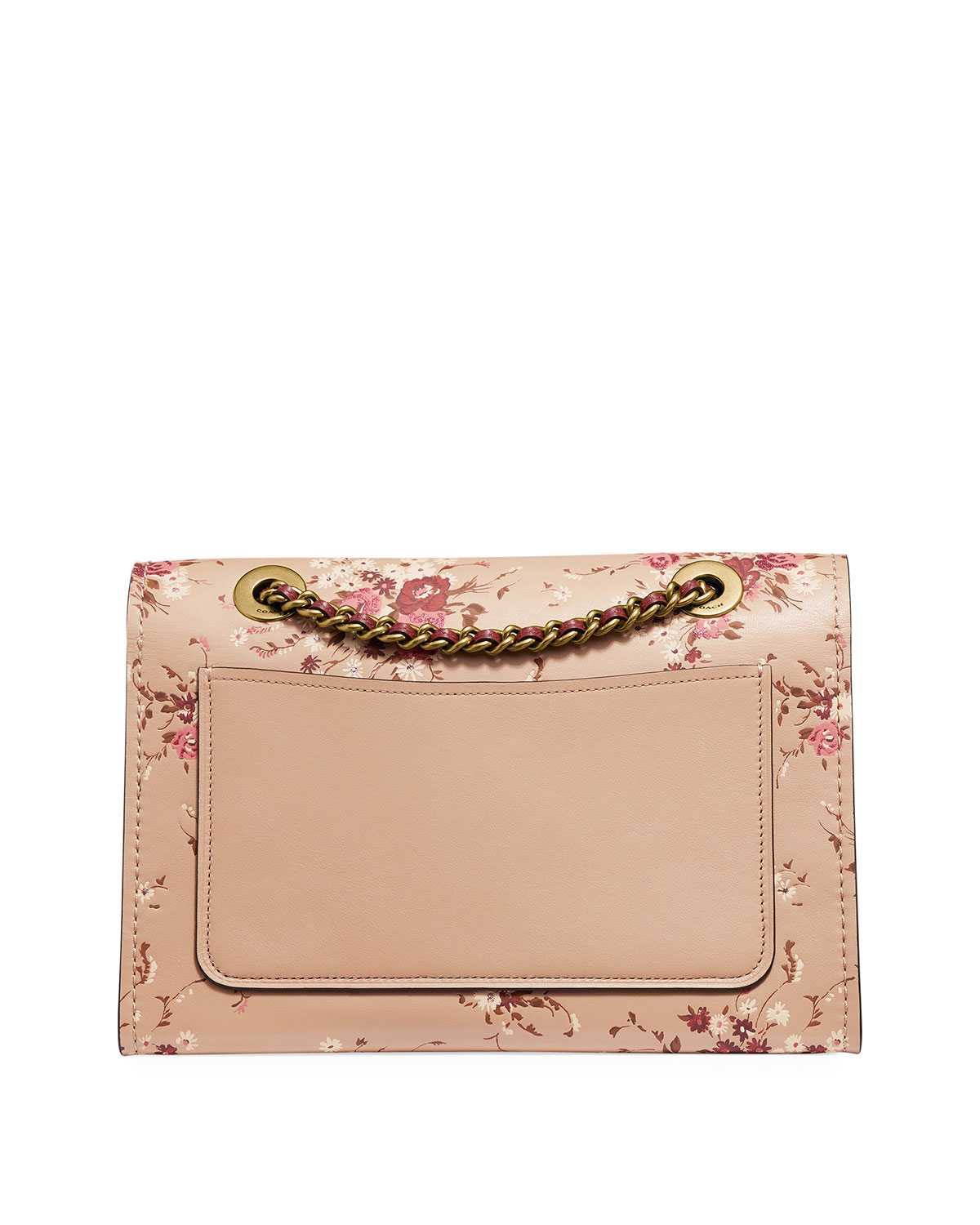 d8768059 Parker Floral-Print Leather Shoulder Bag