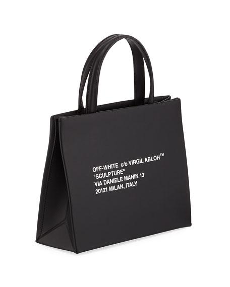 Off-White Mini Leather Box Bag
