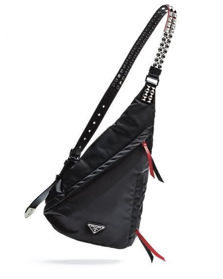 Prada New Vela Small Swing Backpack