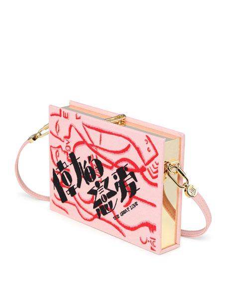 Olympia Le-Tan Z The Great Love Box Crossbody Bag