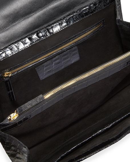 Nancy Gonzalez Medium East-West Top Handle Bag