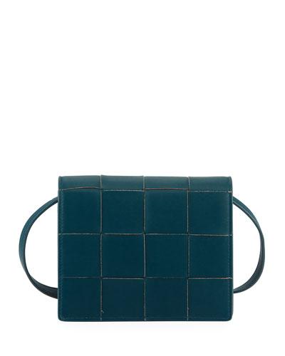 Mini Intrecciato Napa Crossbody Bag